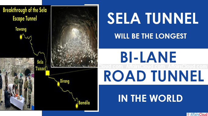 Sela Tunnel will be the longest bi-lane road tunnel in the world