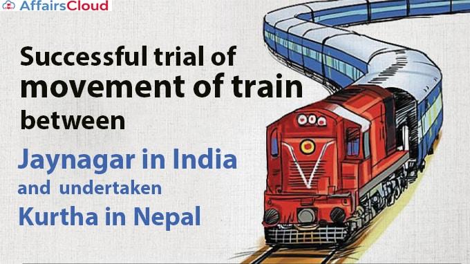 Successful-trial-of-movement-of-train-between-Jaynagar-in-India-and-Kurtha-in-Nepal-undertaken