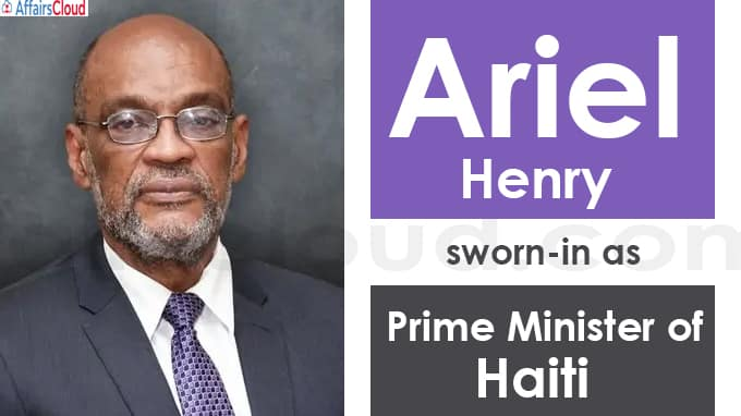 new Prime Minister of Haiti
