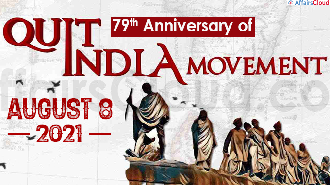 79th anniversary of Quit India movement