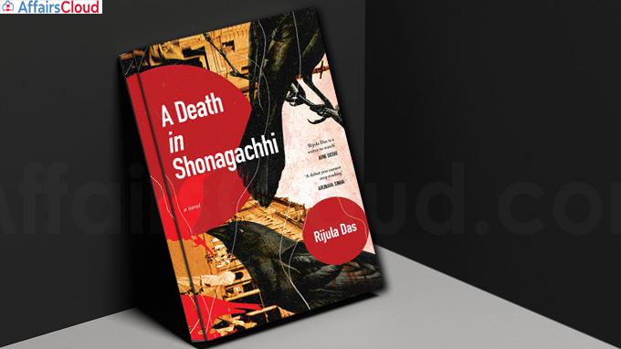 A book titled A Death in Shonagachhi by Rijula Das