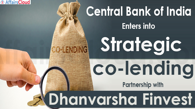 Central Bank of India enters into strategic co-lending partnership