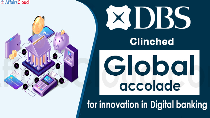 DBS clinches global accolade for innovation in digital banking