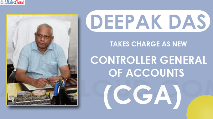 Deepak Das takes charge as new Controller