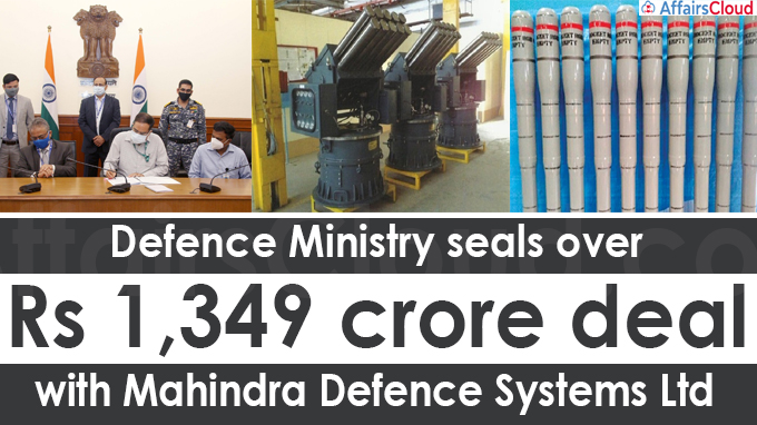 Defence ministry seals over Rs 1,349 crore deal with Mahindra Defence Systems Ltd