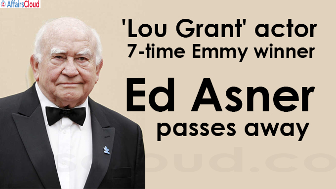 Ed Asner passes