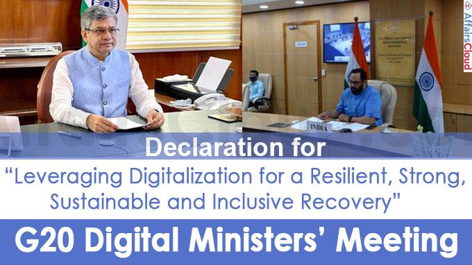 G20 Digital Ministers' Meeting