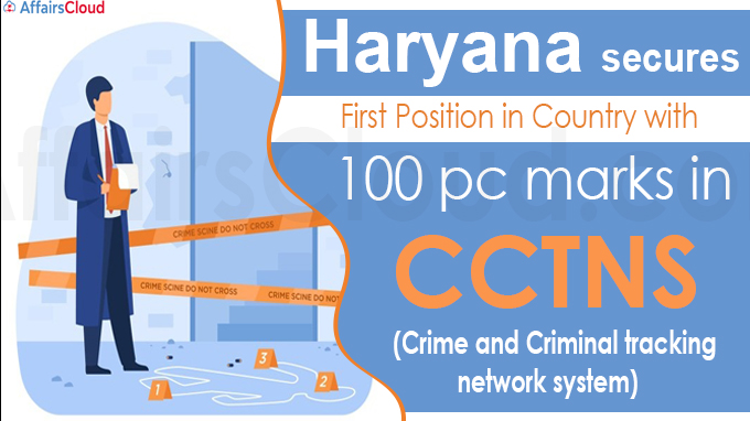 Haryana secures first position in country with 100 pc mark
