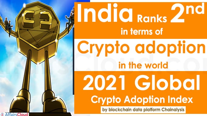 India ranks second in terms of crypto adoption in the world