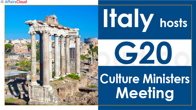 Italy hosts G20 Culture Ministers' Meeting