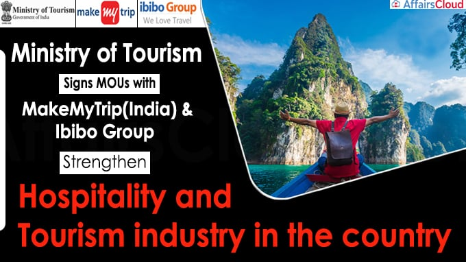 Ministry of Tourism Signs MOUs strengthen hospitality and tourism industry in the country
