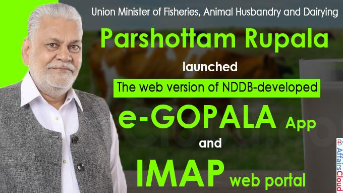 National Dairy Development Board launches e-GOPALA & IMAP web portals