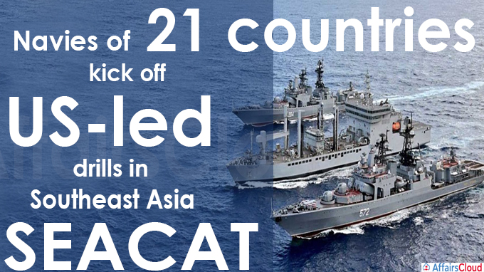 Navies of 21 countries kick off US-led drills in Southeast Asia