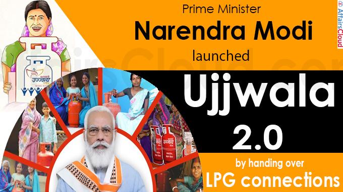 PM launches Ujjwala 2-0 from Mahoba Uttar Pradesh