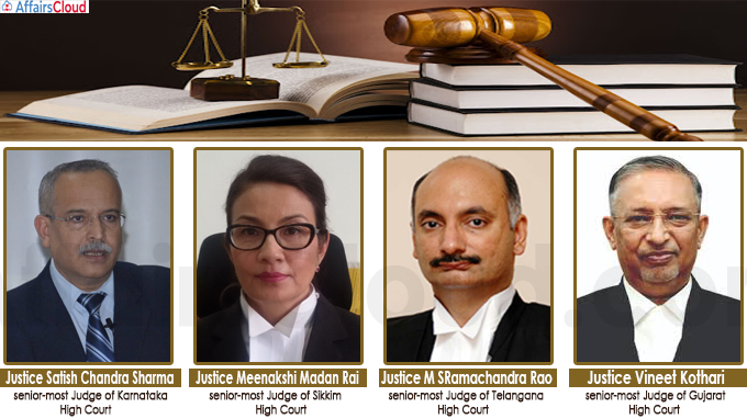 President appointed Acting Chief Justices