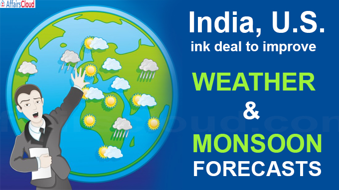 weather and monsoon forecasts