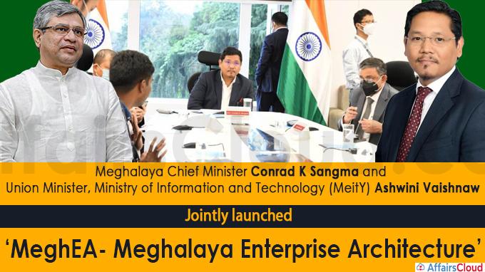 'MeghEA- Meghalaya Enterprise Architecture'