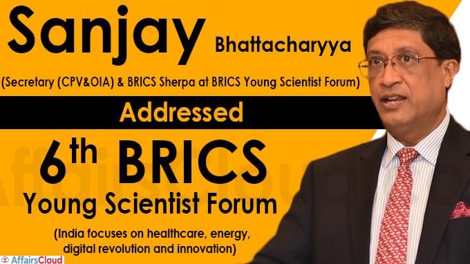 6th BRICS Young Scientist Forum