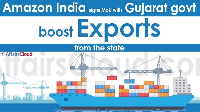 Amazon India signs MoU with Gujarat govt to boost exports from the state