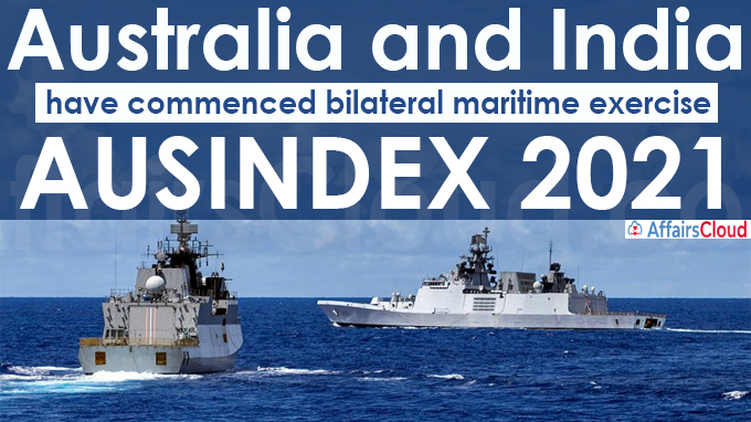 Australia and India have commenced bilateral maritime exercise