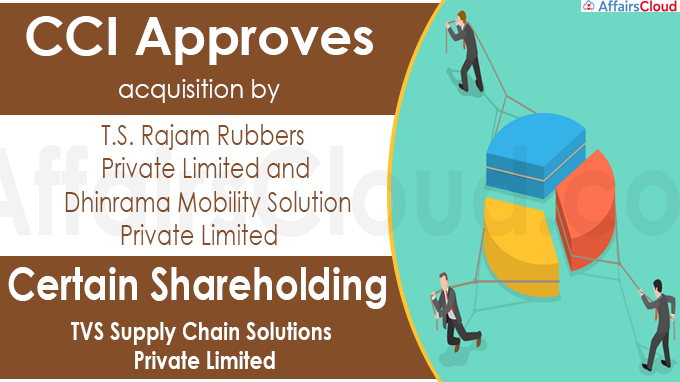 CCI approves acquisition by T.S. Rajam Rubbers Private Limited