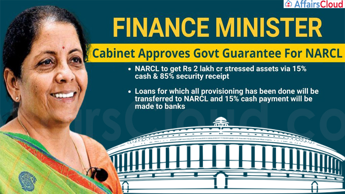 Cabinet Approves Guarantee Of Up To Rs 30600 Crore