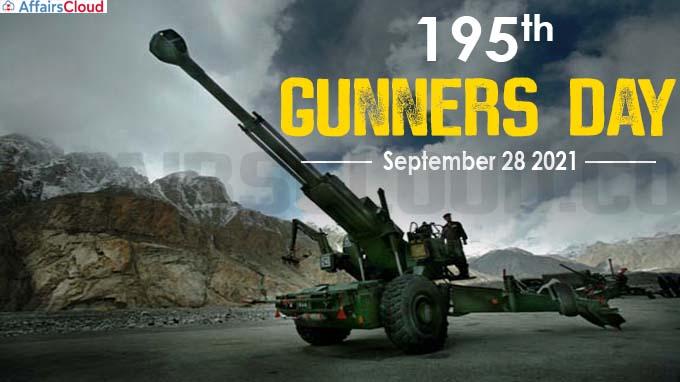 Celebrations of 195th Gunners Day - September 28 2021