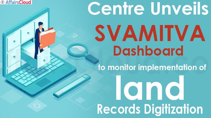 Centre unveils SVAMITVA dashboard to monitor implementation