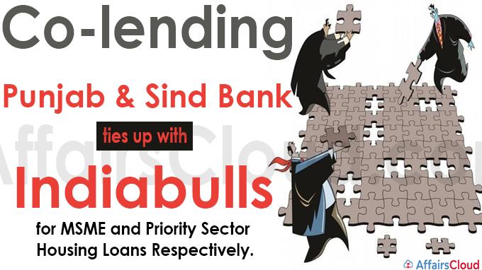 Co-lending Punjab & Sind Bank ties up with Indiabulls