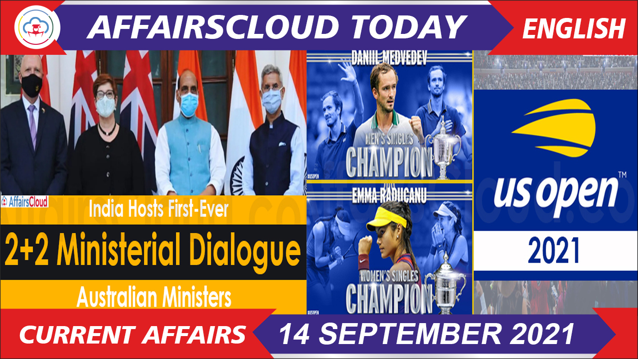 Current Affairs 14 September 2021 english