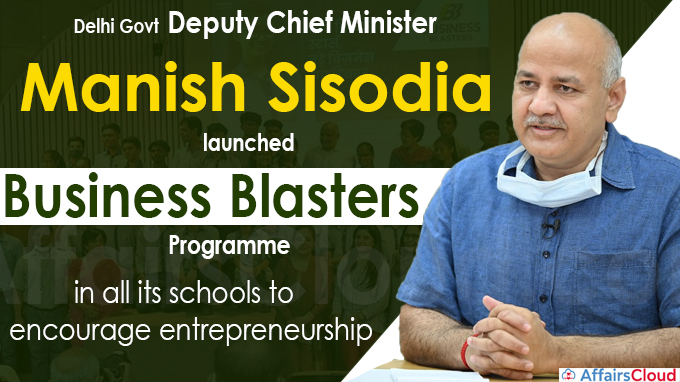 Delhi govt launches 'Business Blasters' programme