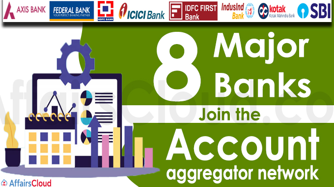 Eight major banks join the account aggregator network