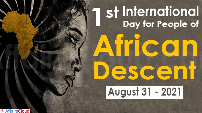 First International Day for People of African Descent 2021