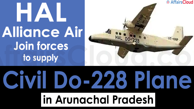 HAL, Alliance Air join forces to supply civil Do-228 plane