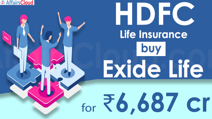 HDFC Life Insurance to buy Exide Life for ₹6,687 crore