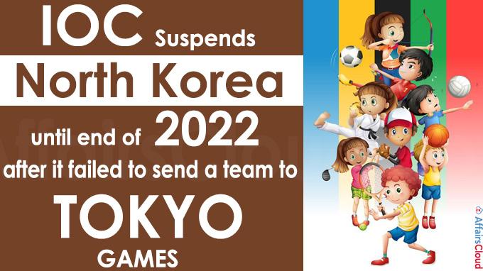 IOC suspends North Korea until end of 2022