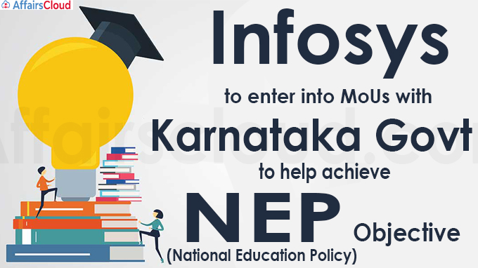 Infosys to enter into MoUs with Karnataka govt to help achieve NEP objective
