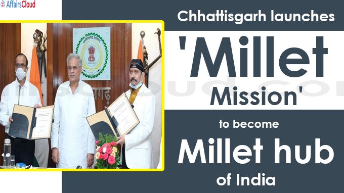 Millet hub of India