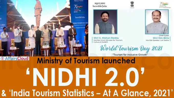 Ministry of Tourism launches 'NIDHI 2-0'