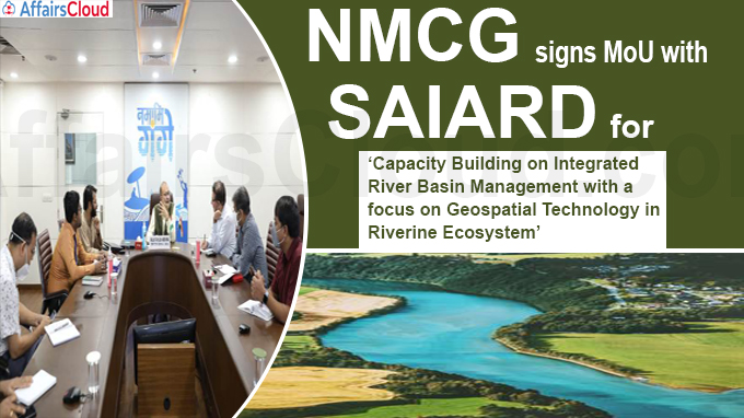 NMCG signs MoU with SAIARD