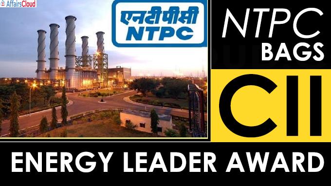 NTPC bags CII Energy Leader Award