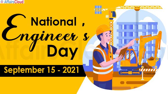 National Engineer's Day - September 15 2021