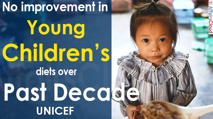 No improvement in young children's diets over past decade