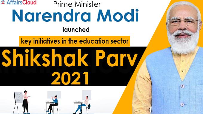 PM addresses the inaugural conclave of Shikshak Parv