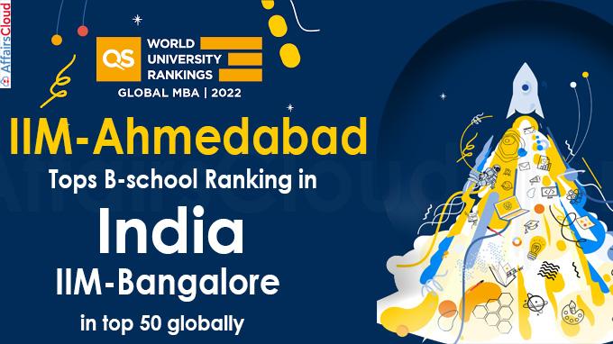QS Global MBA Rankings 2022 IIM-Ahmedabad