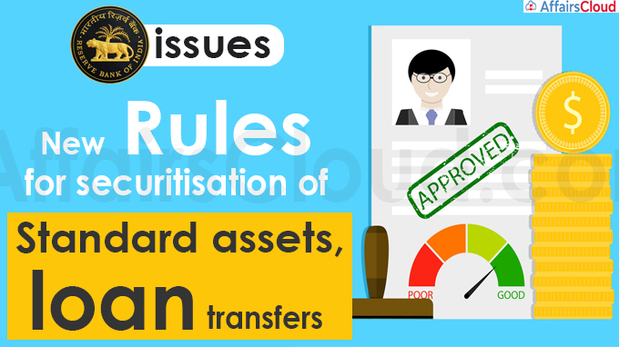 RBI issues new rules for securitisation of standard assets, loan transfers