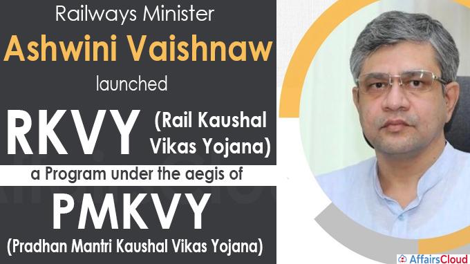 Shri Ashwini Vaishnaw launches Rail Kaushal Vikas Yojana