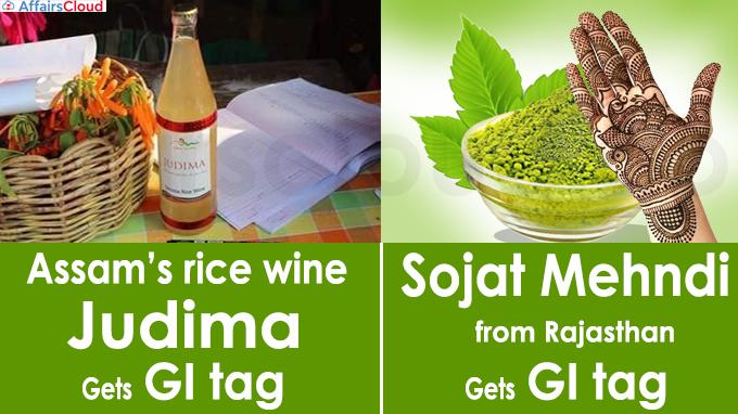 Sojat Mehndi from Rajasthan gets GI tag