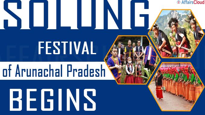 Solung festival of Arunachal Pradesh begins