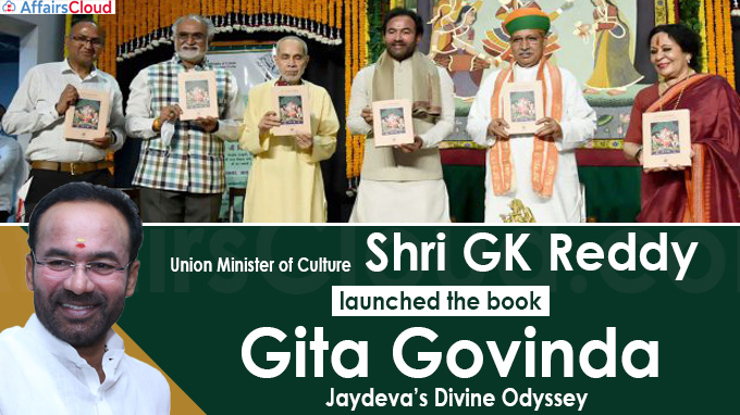 Union Minister of Culture Shri GK Reddy launches the book